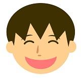 にっこり笑顔