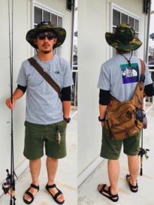 夏の釣りの服装【男性】暑さ対策とファッション両立のウェア